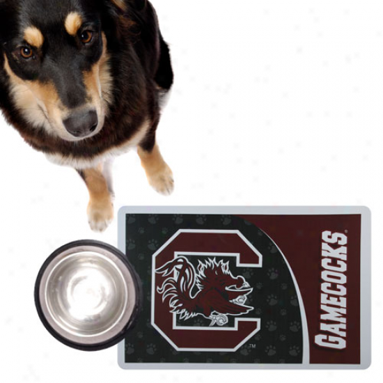 South Carolina Gamecocks Garnet Pet Mat