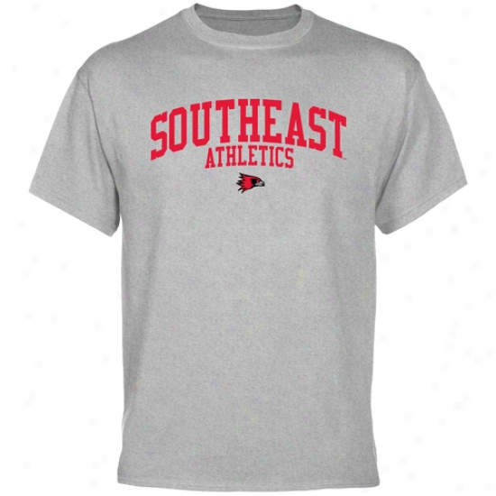 Southeast Missouri State Redhawks Athletic T-shirt - Ash