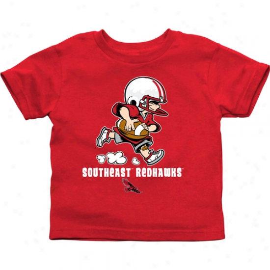 Southeast Missouri Stat Redhawks Toddler Little Squad T-shirt - Red
