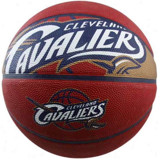 Spalding Cleveland Cavaliers Full-sizw Courtside Baxketball