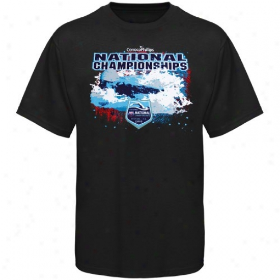 Speedo Usa Swimming Youth Black 2010 National Championships T-shirt
