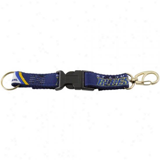 St. Louis Blues 2-piece Detachable Swivel Keychain
