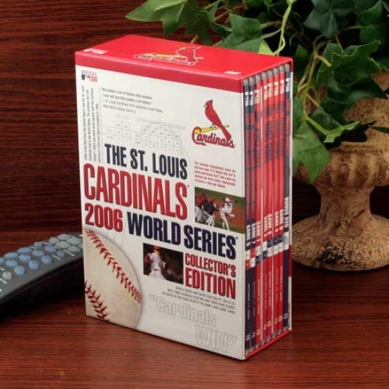 St. Louis Cardinals 2006 World Series Collector's Edition 8-disc Dvd Set
