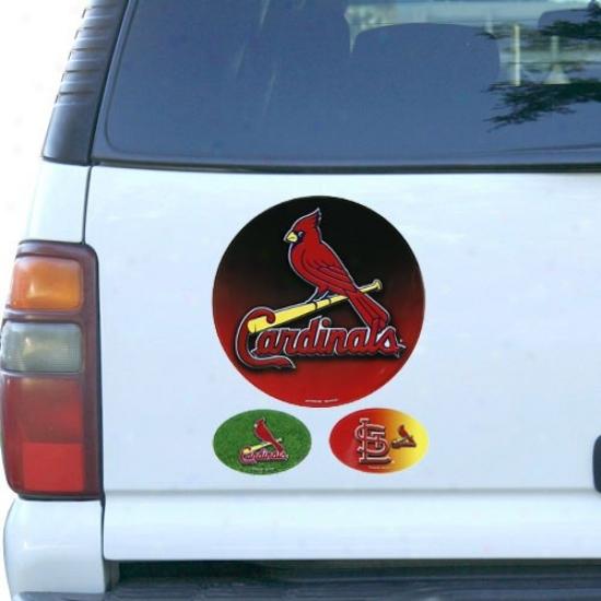 St. Louis Cardinals 3-pack Magnet Set-