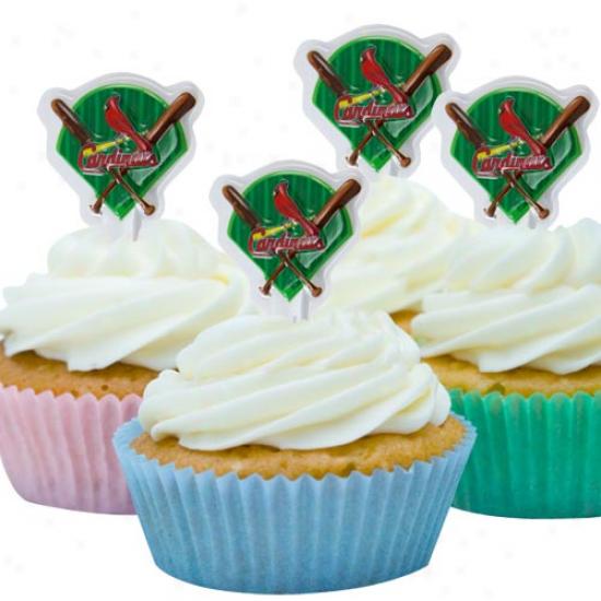 St. Louis Cardinals Team Logo Party Pics