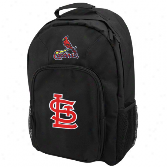 St. Louis Cardinals Y0uth Black Southpaw Backpack
