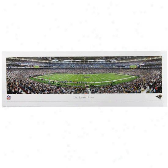 St. Louis Rams 13.5'' X 40'' Panoramic Print