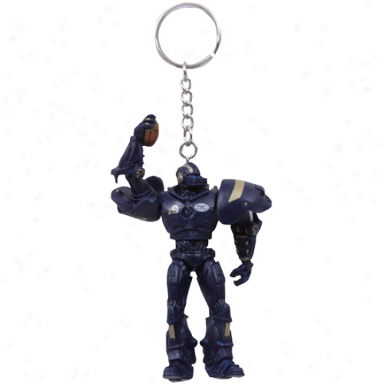 St. Louis Rams 3'' Fox Sports Robot Keychain