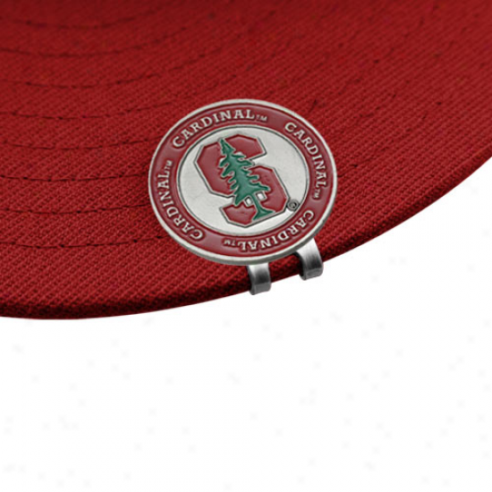 Stanford Cardinal Ball Markers & Hat Prune Set-