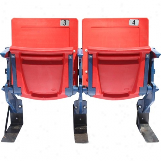 Steiner Sports N3w York Giants Meadowlands Non-specific Red Seat Pair