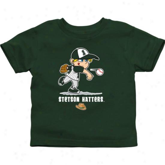 Stetson Hatters Infant Boys Baseball T-shirt - Green
