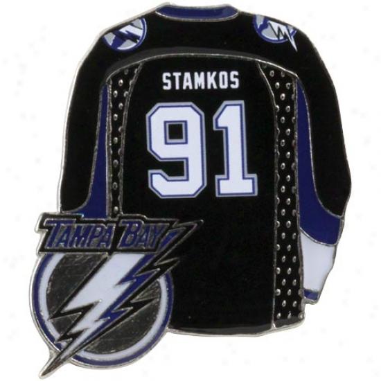 Steven Stamkos Tampa Bay Lightning #91 Jersey Player Pin