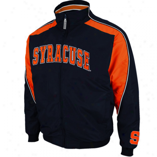 Syracuse Orange Navy Blue Element Full Zip Jacket