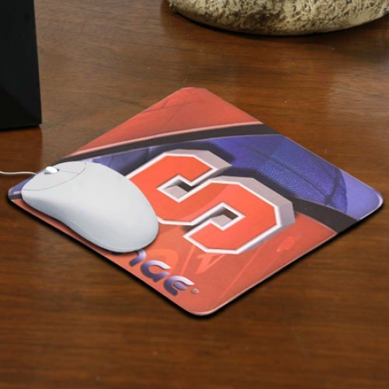 Syracuse Orange Team Logo Neoprene Mousepad