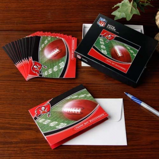 Tampa Bay Buccaneers Boxed Note Cards