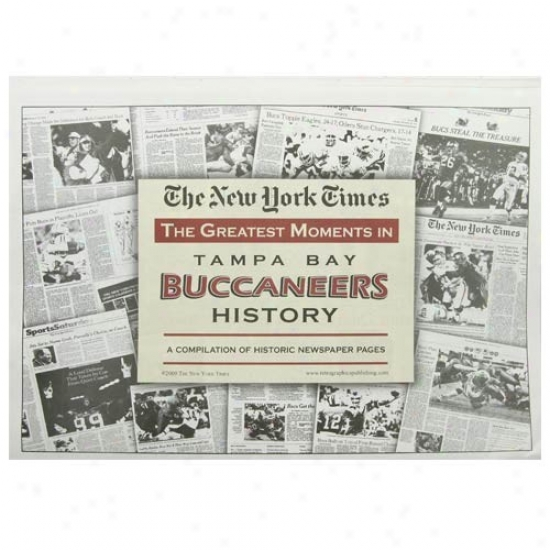 Tampa Bay Buccaneers Greatest Moments Newspaper