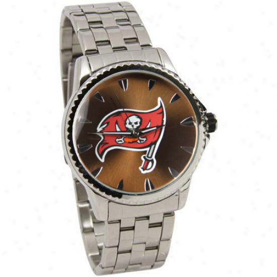 Tampa Bay Buccaneers Manager Stainless Steel Watch