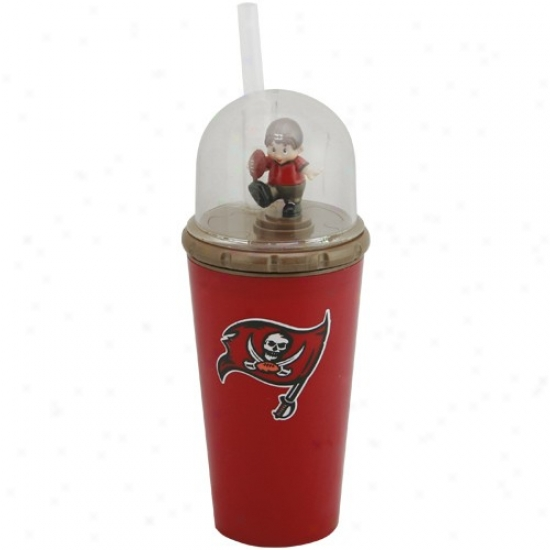 Tampa Bay Buccaneers Red Windup Mascot Cup