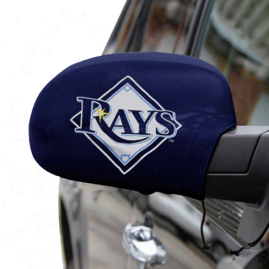 Tampa Bay Rays Large Team Logo Side Mirror Cover