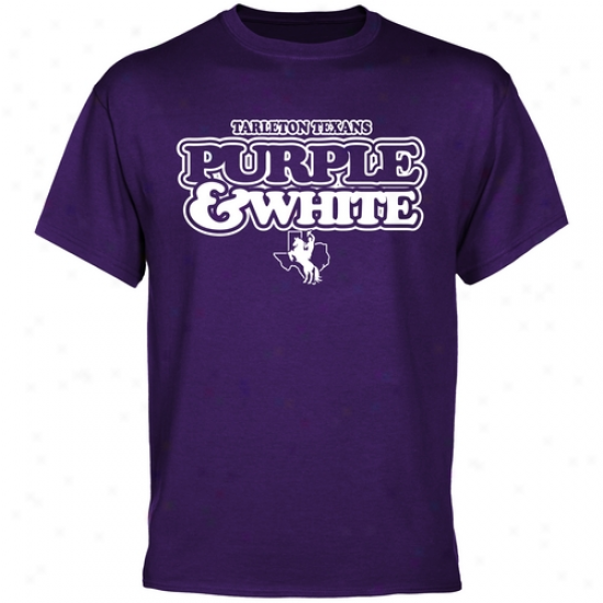 Tarleton State Texans Our Colors T-shirt - Purple