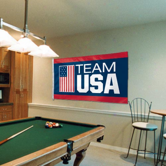 Team Usa 3' X 5' Flag