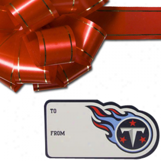 Tennessee Titans 3-pack Team Gift Tag Sheets