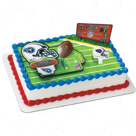 Tennessee Titans Cake Decorating Kit