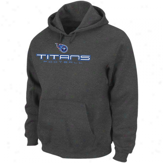 Tennessee Titans Chharcoal 1st & Goal Iv Pullover Hoodie Sweatshirt