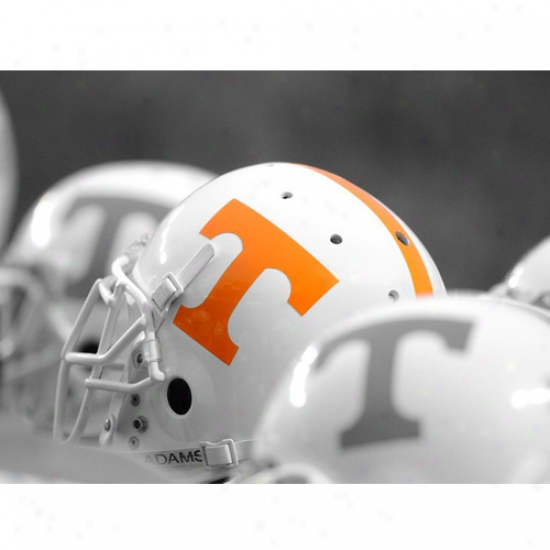 Tennessee Volunteeers 12'' X 9'' Helmets Photographic Print