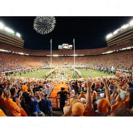 Tennessee Volunteers 18'' X 24'' Unframed Pep Rally Stadium Impression