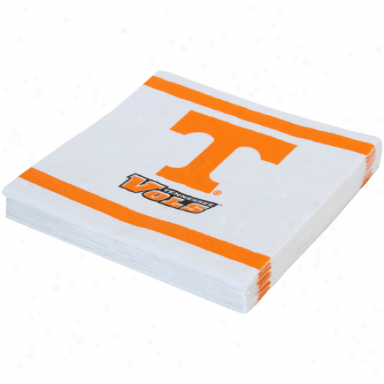 Tennessee Volunteees 20-pack Team Luncheon Napkins