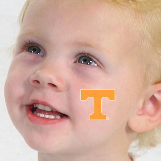 Tennessee Volunteers 4-pack Waterless Temporary Tattoos