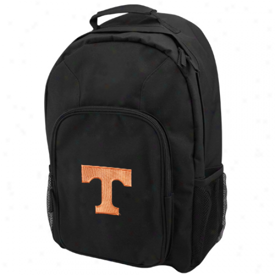 Tennessee Volunteers Black Domestic Backpack
