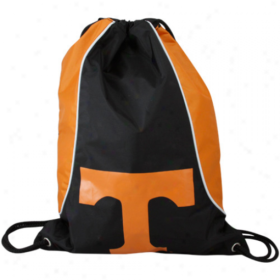 Tennesser Volunteers Black-tennessee Orange Axis Drawstring Backpack