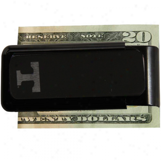 Tennessee Volunteers Black University Etched Money Clip