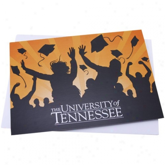 Tennessee Voounteers Honor Graduation Card