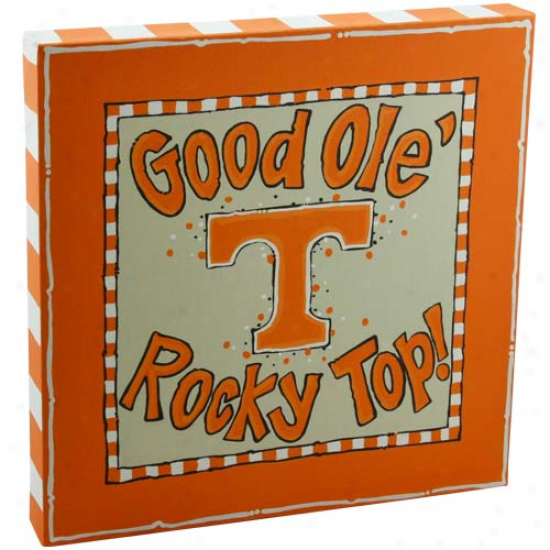 Tennessee Volunteers Logo Canvas