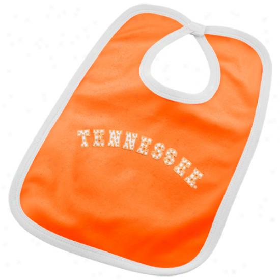 Tennessee Volunteers Polka Point Twill Bib - Tennessee Orange