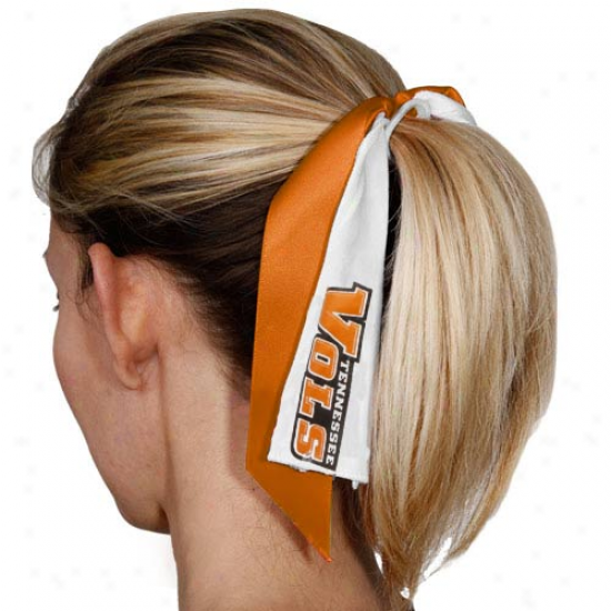 Tennessee Volunteers Strreamer Ponytail Holder
