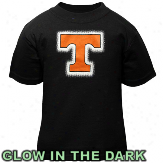 Tennessee Volunteers Toddler Glowgo T-shirt - Black