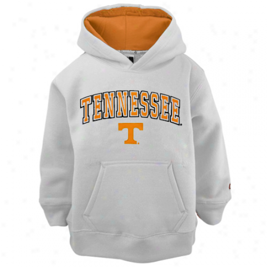 Tennesseee Volunteers Youth White Automatic Hoody Sweatshirt