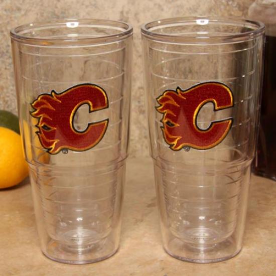 Tervis Tumbler Calgary Flames 2-pack 24oz. Team Logo Tall Tumbler Cups
