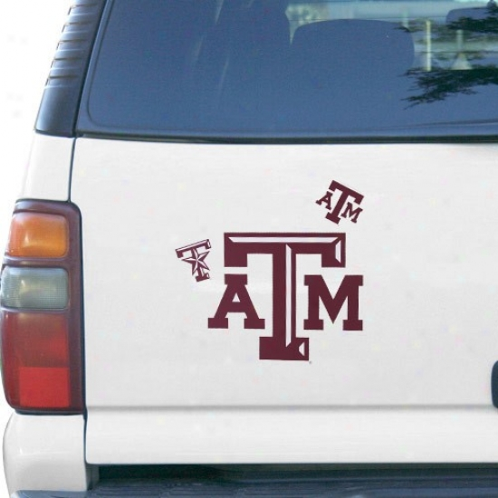 Texas A&m Aggies 12'' X 12'' Magnet Multipack