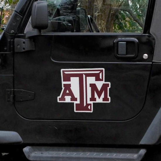 Texas A&m Aggies Team Logo Magnet