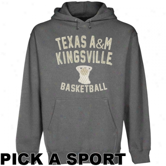 Texas A&m Kingsville Javelinas Legacy Pullover Hoodie - Gunmetal