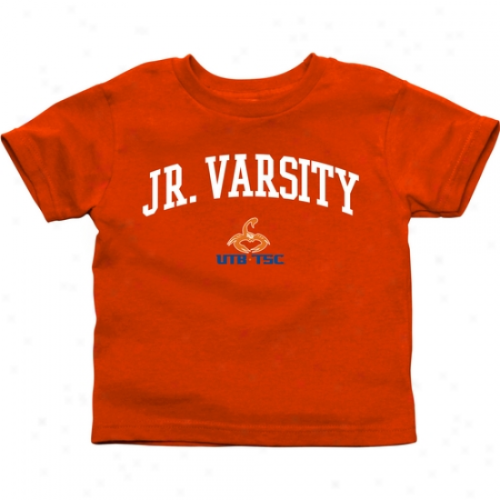 Texas Brownsville Scorpions Infant Jr. Varsity T-syirt - Orange