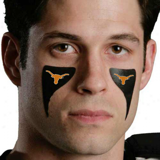 Texas Longhorns 2-pack Warrior Eyeblack Strips