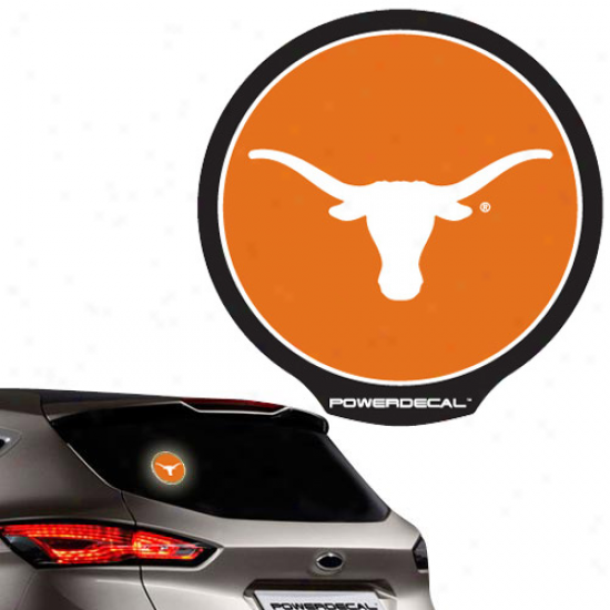 Texas Longhorns Backlit Led Motion Sensing Powerdecal