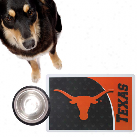 Texas Longhorns Burnt Orange Pet Mat