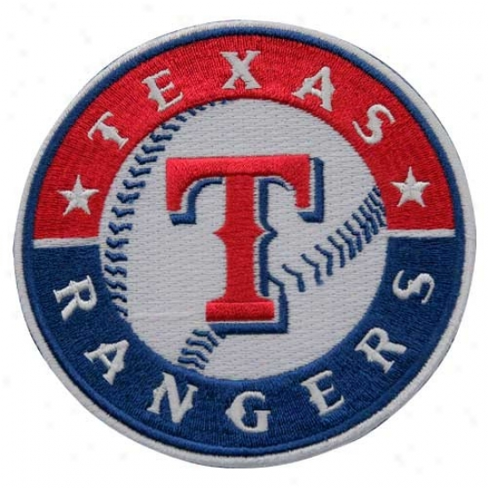 Texas Rangers Emboridered Team Logo Collectible Patch-